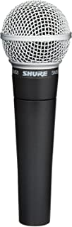 Shure SM58-LC Cardioid Dynamic Vocal Microphone - Black