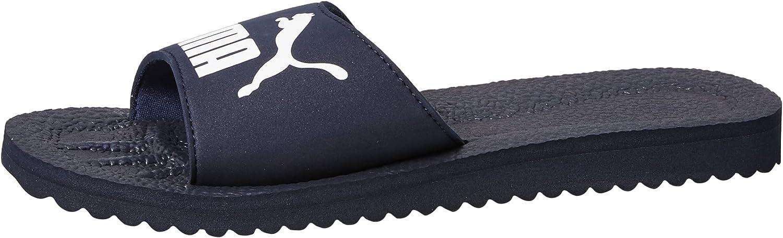 PUMA Unisex-Adult Atlanta Mall Deluxe Purecat Slide Sandal