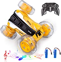 Remote Control Car, RC Cars Stunt Car Toy, 2.4Ghz Double Sided 360° Rotating RC Car,..
