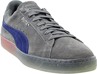 Mens Suede Summer Nights Fade Casual Sneakers,