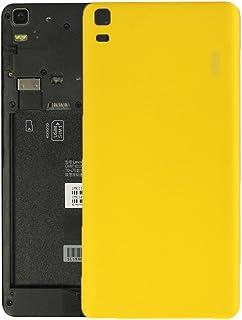 Piezas de Recambio Compatible con el reemplazo de la Cubierta Posterior de la batería del Lenovo K3 Note para los teléfonos móviles (Color : Yellow)