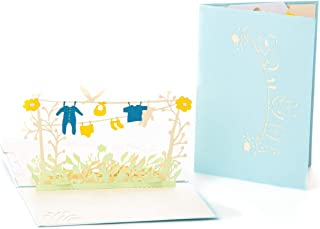 IOC Baby Announcement Pop Up Card - Baby Shower announcements for husband, Baby Reveal Invitations, Tell Parents I'm Pregn...