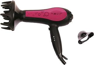 Nevir NVR-2201 S - Secador de pelo (27 cm, 7,5 cm, 23 cm, 230 x 270 x 105 mm) Negro, Rosa