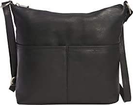 Le Donne Leather Carefree Top Zip Tote