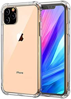 iPhone 11 Pro Max mobile cover, Gorilla brand, transparent color, provides perfect protection for the device, and has a Sc...