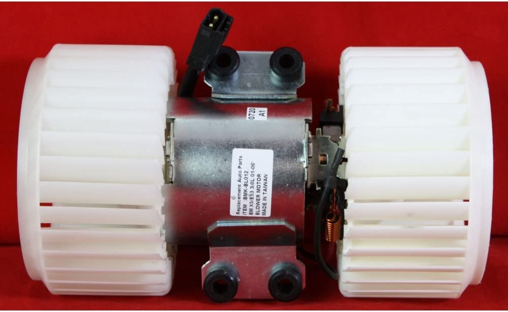 Evan-Fischer Blower Motor compatible with X5 New Orleans Branded goods Mall 6Cy BMW 01-06 Front