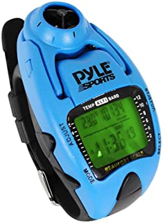 Digital Multifunction Sports Wrist Watch - Waterproof Smart Fit Classic Men Women Sport Sailing Hiking Fitness Gear Tracker w/ Altimeter, Barometer, Compass, Timer, Chronograph - Pyle
