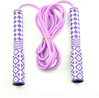 Jump rope Adult children for fitness crossfit adjustable exercise sports training bodybuilding equipment purple color