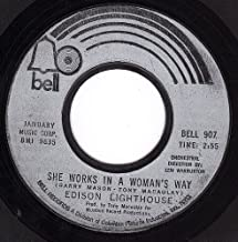 She Works In A Woman's Way/It's Gonna Be A Lonely Summer (NM 45 rpm)