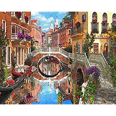 Vermont Christmas Company Venetian Waterway Jigsaw Puzzle 1000 Piece