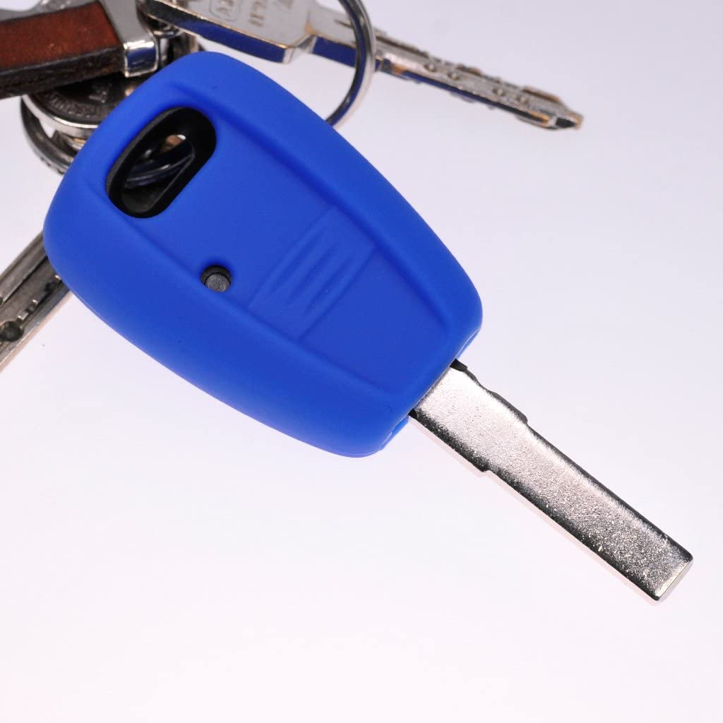 Soft Case Schutz Hülle Auto Schlüssel Weiß Für Fiat Elektronik
