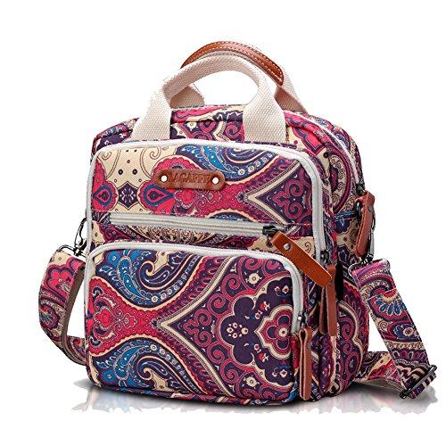 Hochwertige Designertasche aus Leinen, modische Mini-Multifunktions-Wickeltasche, Umhängetasche, Rucksack