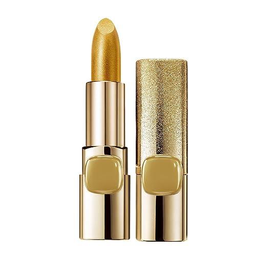 L'Oreal Paris Color Riche Metallic Addiction Lipstick, Pure Gold 629, 3.7g