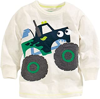 Mammybaby Baby Boy/Toddler/Kid's Long Sleeve T-Shirts(2-6 Years)
