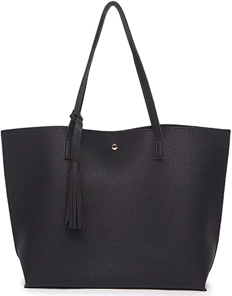 Women's Tote Bags Soft Leather Tasse Max 71% OFF Capacity Shoulder Very popular Large Bag