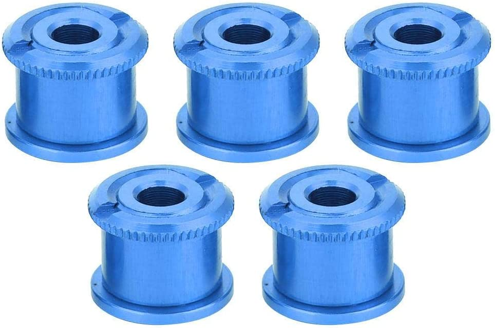 5Pcs Aluminium Alloy Bike Chainring Screw Chainwheel Bolt Bike Chainring Bolts for Single Double Triple Speed Keenso Bicycle Chainring Bolts