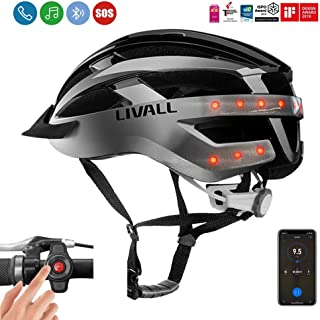 LIVALL MT1 Smart Helmet, Cycling Mountain Bluetooth Helmet, Sides -Built-in Mic, Bluetooth...