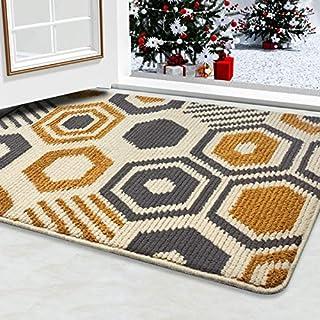 """Color&Geometry Indoor Doormat Indoor Outdoor 24""""x36"""" Mat Waterproof, Non.."""