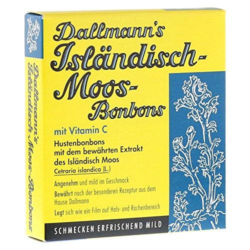 Dallmann's Isländisch-Moos-Bonbons, 20 st. Snoepjes
