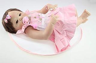 58 cm Rzadkie realistyczne prawdziwe dziecko rozmiar ręcznie wykonany silikon winyl całe ciało zmywalne odrodzony niemowlę...