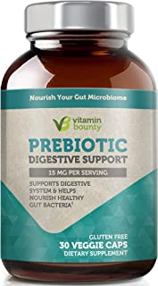 Vitamin Bounty Prebiotic Supplement - with PreForPro® - Supports Growth of Beneficial Gut Bacteria