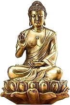 Pure Copper Buddha Statue, Day is Coming Buddha Sculpture, Buddha Statue of Sakyamuni Buddha, Household Buddha Figurines D...