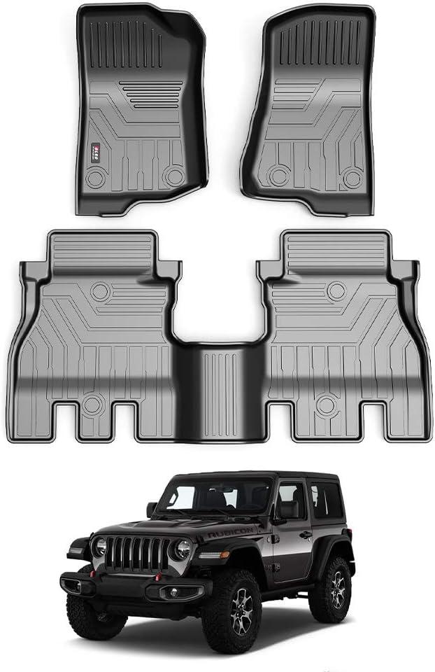 Beerte Daily bargain Many popular brands sale Custom TPE Car Floor Mats 201 Fit Liner Jeep for Wrangler