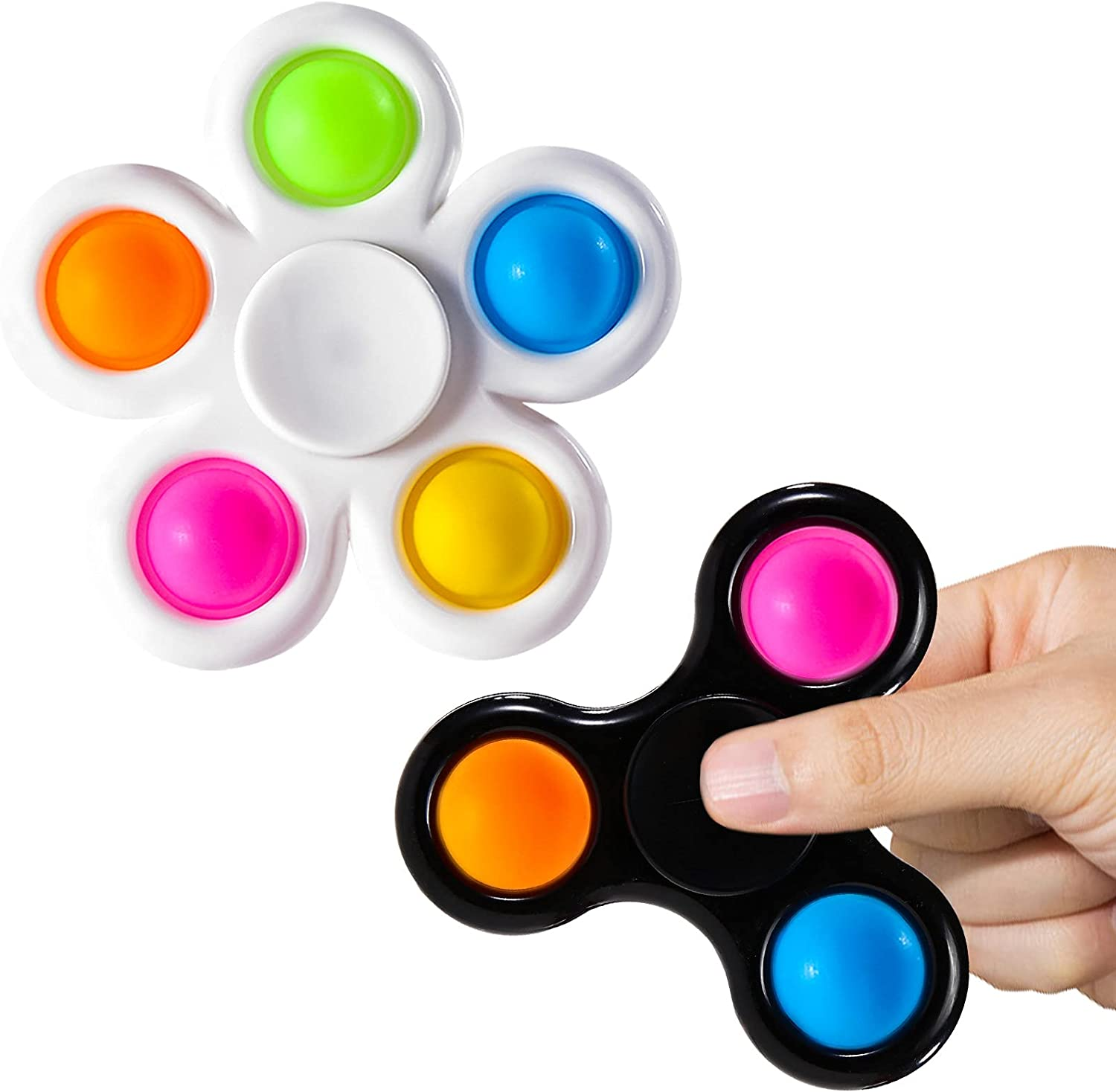SCIONE Pop Fidget Spinners 2 Toy Pack Packs New shipfree York Mall Poopp