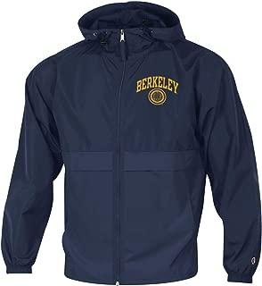 Champion UC Berkeley Cal Men's Zip-Up Windbreaker Jacket - Navy