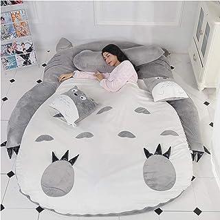 Totoro sovsäck Barnmadrass mjuk tjockare, mjuk och bekväm Tatami säng lat soffa Söt Min granne Totoro sovrumssäng,Toothles...