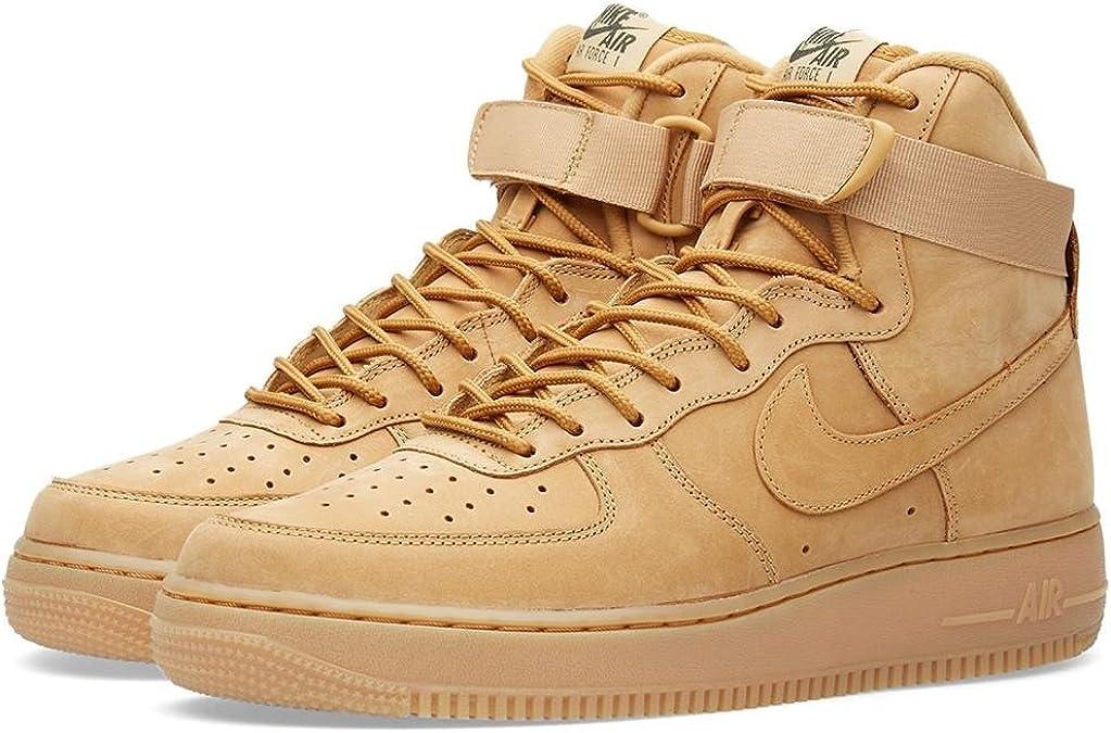 Amazon.com: Nike Air Force 1 Alto 07 LV8 Zapatos De Hombre Flax ...