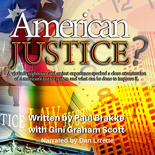 American Justice? audiobook cover art