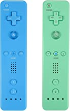 $33 » Sponsored Ad - Yosikr Wireless Remote Controller for Wii Wii U - 2 Packs Green and Blue