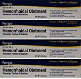 Hemorrhoidal Pain Relief Ointment Generic for Preparation H for Fast Relieves of Internal and External Hemorrhoid Symptoms 2 oz. Per Tube Pack of 4 Total 8 oz. by PERRIGO PHARMACEUTICALS