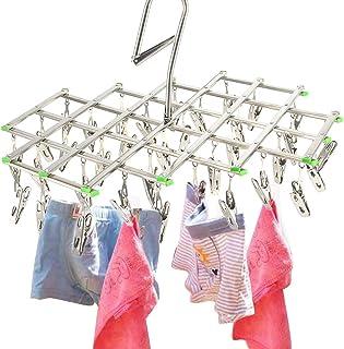 Multiware Clothes Séchoir À Airer 35 Chevilles Séchage Crochet Hanging Lavage Lavage Intérieure Extérieure