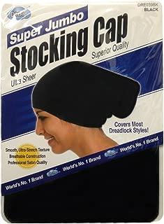Dream Super Jumbo Ultra-Stretch Stocking Cap BLACK DRE039BK