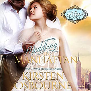 Meddling in Manhattan audiobook cover art