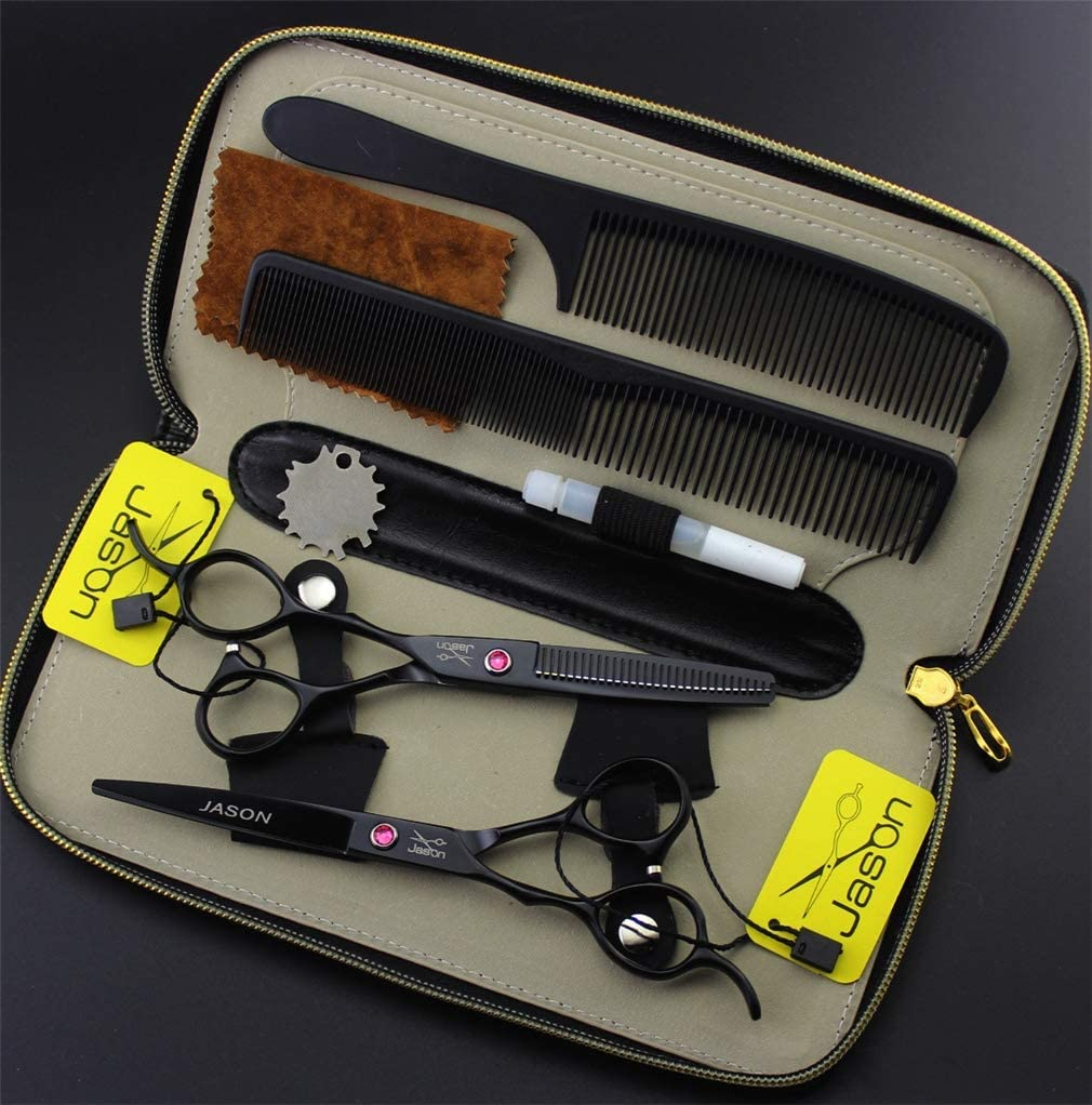 YODZ 6.0 Inch Left Handed Ligh Barber Scissors Hairdressing Set Ranking TOP15 Limited price