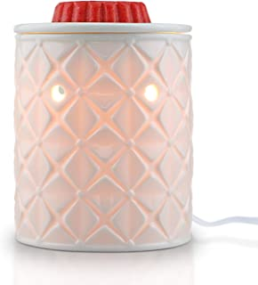 STAR MOON Wax Warmer for Home Décor, Scentsy Warmer, Home Fragrance Diffuser, No Flame, Removable Dish, with One More Bulb...