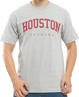 UH University of Houston-Victoria Jaguars NCAA Men's t Shirt Game Day Tees - Heather Grey