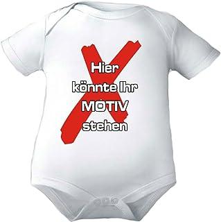 KLEINER FRATZ Body Baby mit eigenem Wunschtext/Kurzarmbody Mädchen Motiv Jungen