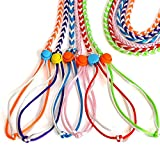 Daycount 2 Pcs Pet Gerbil Rat Mouse Hamster Harness Lead for Walking, Gerbil Cage Playhouse Lead Leash Mouse Rope Random Color (Small)