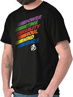 Infinity Power Time Reality Soul Mind Space T Shirt Tee