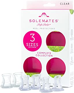 Solemates Heel Protectors: 3 size collection - heel stoppers for grass and weddings
