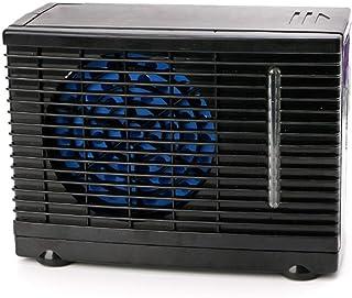 Hacoly Refrigerador del Aire Acondicionado del Coche Ventilador de enfriamiento Agua de enfriamiento Agua evaporador evaporador de Hielo Enfriador de Aire portátil Aire Acondicionado portátil