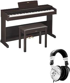 $908 » Yamaha Arius YDP-103 Digital Home Piano with Bench, Dark Rosewood + H&A Closed Back Studio Headphones