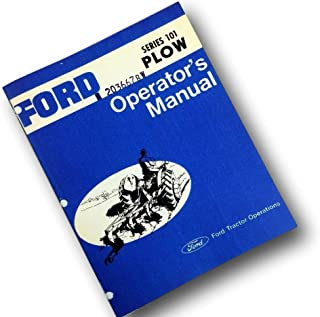 Best ford 101 plow Reviews