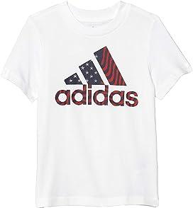 adidas Kids USA Tee (Big Kids)   Zappos.com