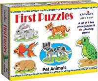 Creative Educational - Firstpuzzles - Pet Animals - First Cre0795 Puzzles
