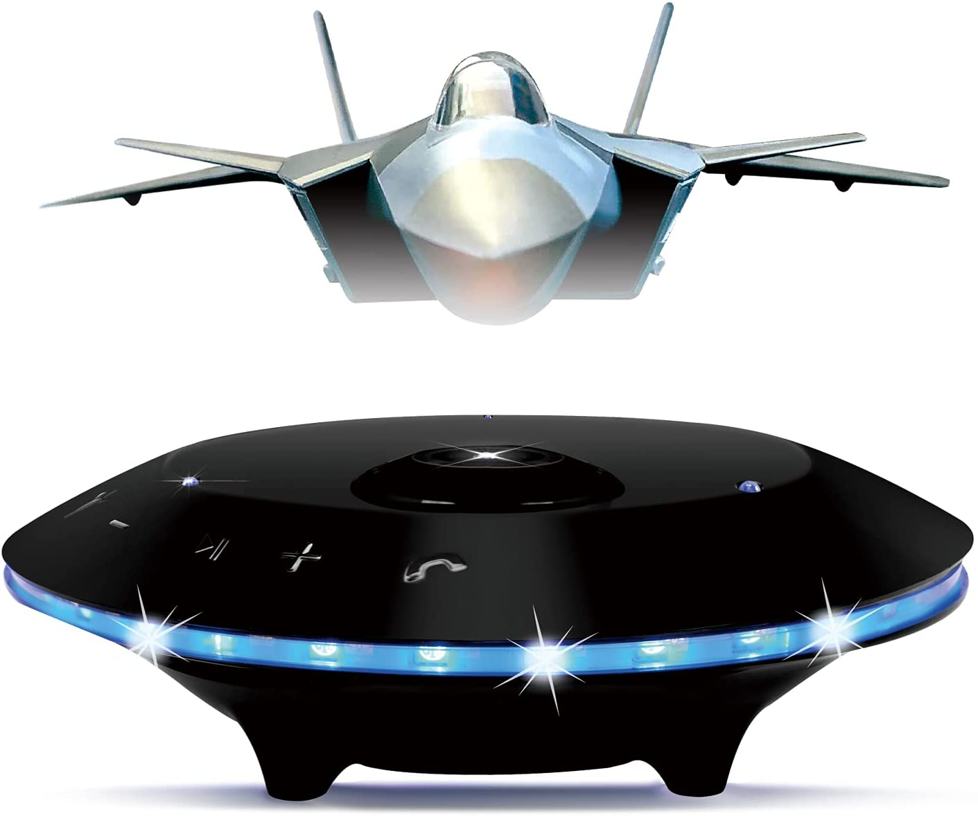 Magnetic Levitating Speaker of Aircraft Houston Mall Max 76% OFF Model Portable Wireless
